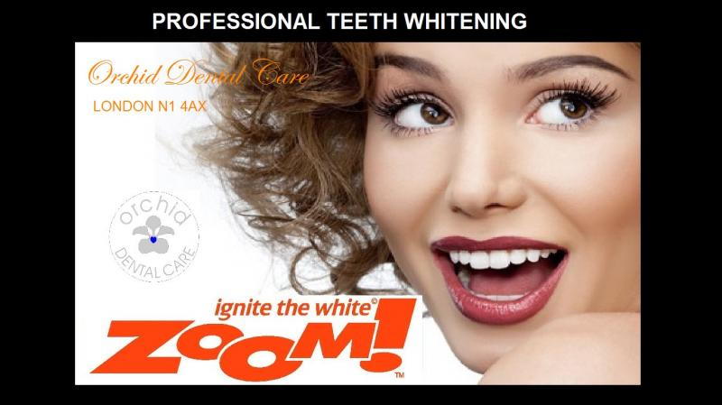 zoom power tooth whitening